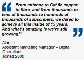 Quote from Alan Li